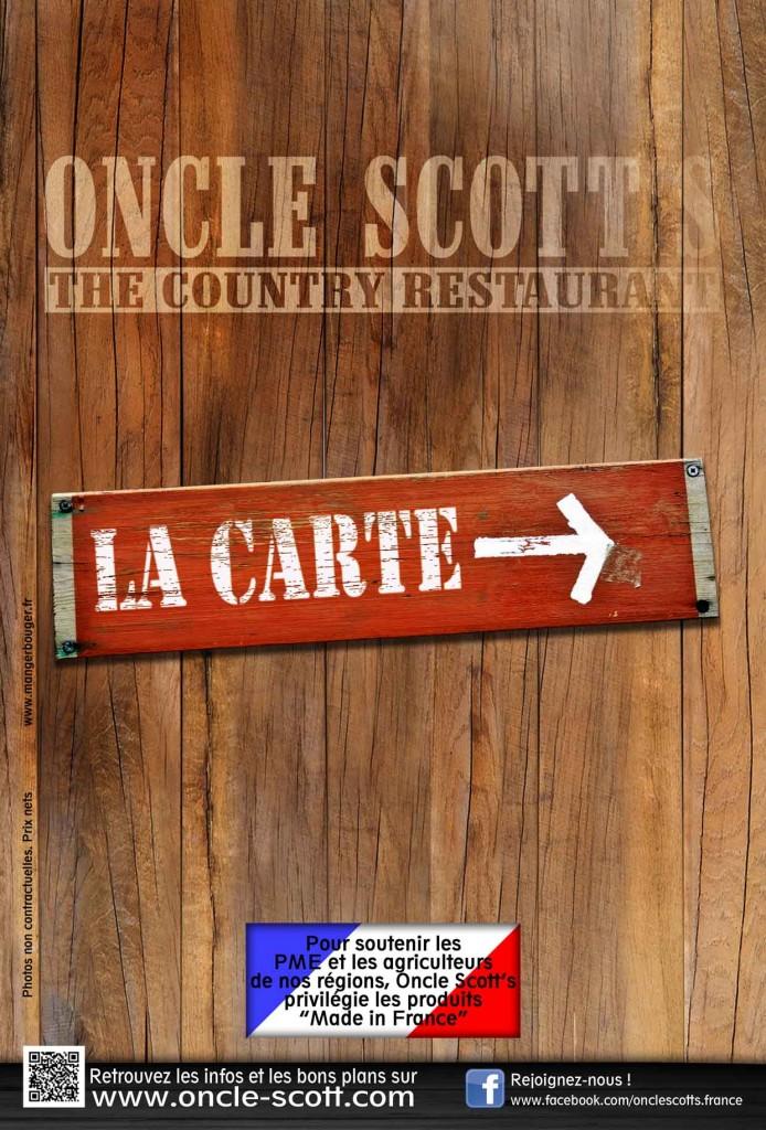 La nouvelle carte est disponible dans tous les restaurants !