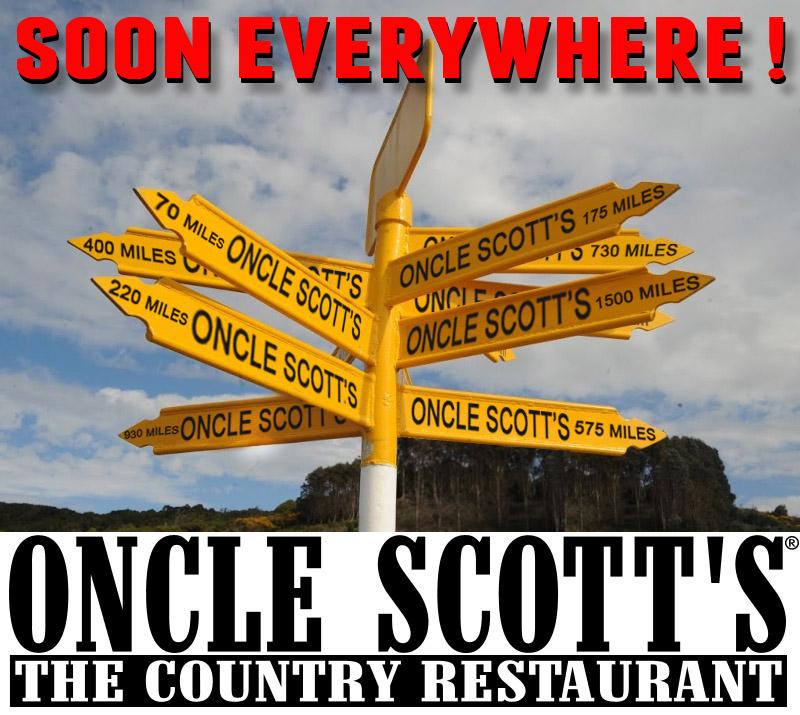 Oncle Scott's sort le «grand jeu» et ouvre 8 nouveaux restaurants !