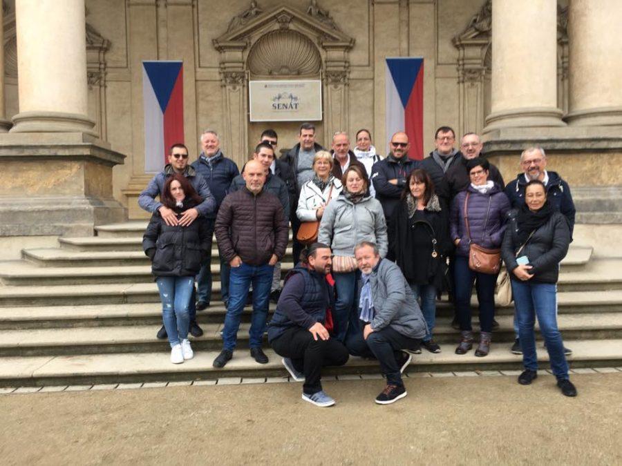 La réunion des adhérents s'est déroulée à Prague !