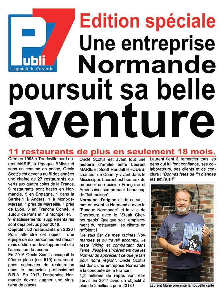 Oncle Scott's : A la conquête de la France !