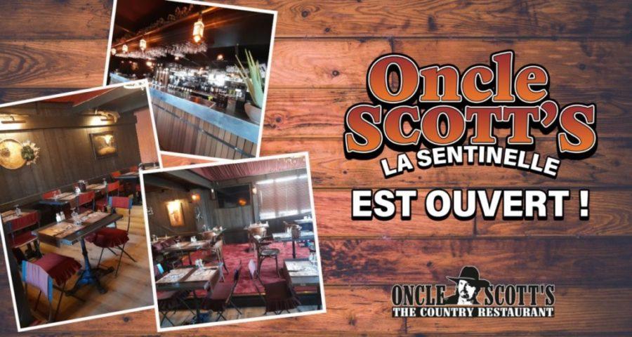 Oncle Scott's Valenciennes est ouvert !
